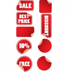 Price labels vector