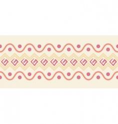 Graphic border design vector