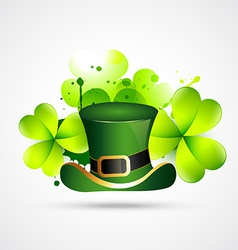 Abstract style st patricks day vector