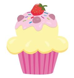 Cupcake vector