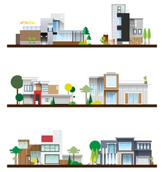 Useful modern home vector
