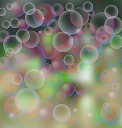 Background soap bubbles vector