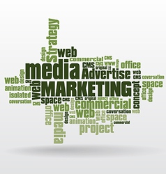 Social media marketing vector