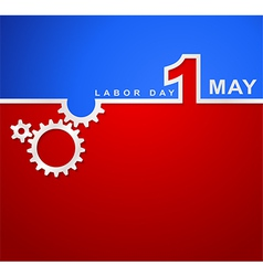 1 may international labor day workers day vector