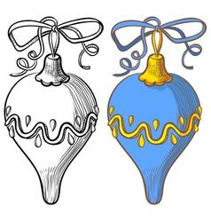 Ball decoration vector