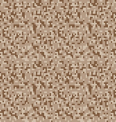 Safari camouflage seamless pixel pattern vector