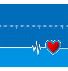 Cardiograms medical heart rhythm heart vector