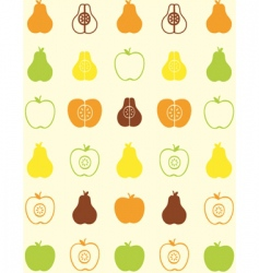 Pear wallpaper vector