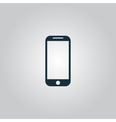 Mobile phone sign icon vector
