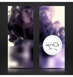 Cloud of ink in water vector