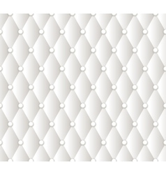 Abstract white upholstery background vector