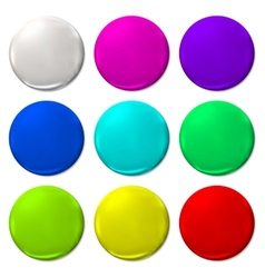 Ballon color fun balloon web icon vector