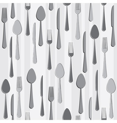 Seamless cutlery vector