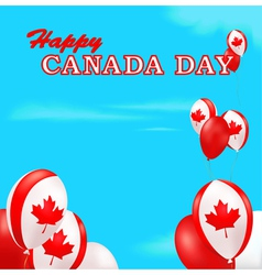 Canada day background vector