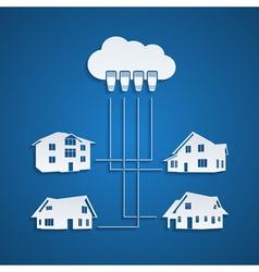 Cloud concept 2 vector