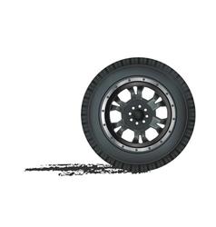 Auto wheel vector