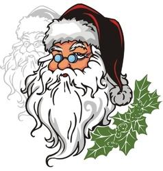 Santa claus - vinyl-redy vector
