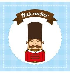 Nutscracker toy vector