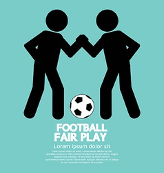 Fair play sport sign vector