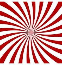 Red hypnosis spiral pattern optical vector