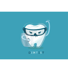 Protect of tooth vector