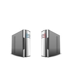 Computer servers i vector