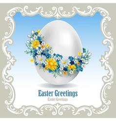 Easter egg 1 vector