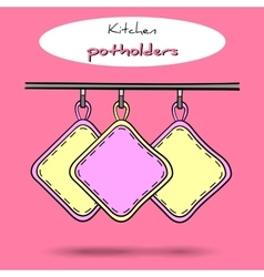 Potholders vector