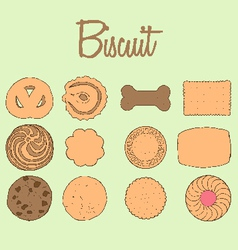 Biscuit collection vector