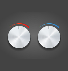 Round dial switch vector
