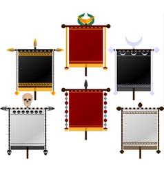 Set of standards vector
