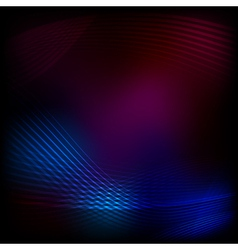 Blend lines purple mesh vector