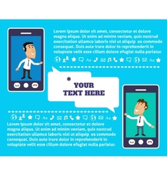 Mobile communication presentation vector