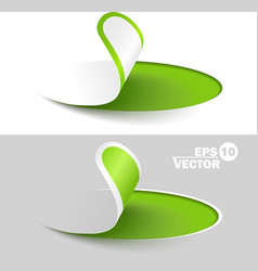 Creative labels vector