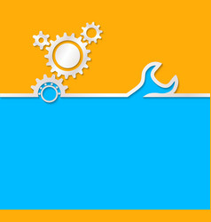 Gear background useful background for construction vector