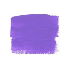 Lilac acrylic paint banner vector
