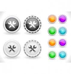 Web menu items vector