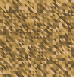 Geometric abstract backgrounds brown palette vector