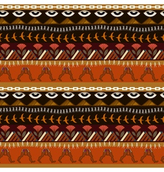 Seamless ethnic pattern in egyptian style vector