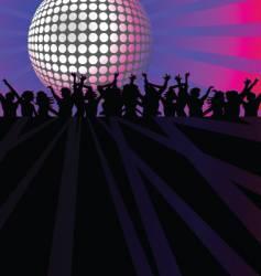 Dance club vector