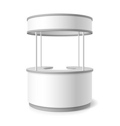 Trade stand vector