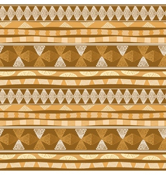 Seamless pattern with mexican design vector