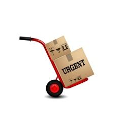 Delivery service icon vector