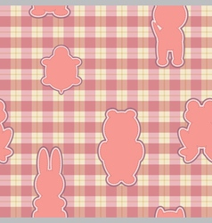 Applique in the shape of an animal vector