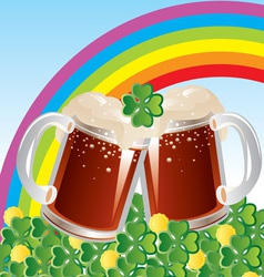 Patricks day celebration vector