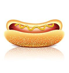 Object hotdog vector