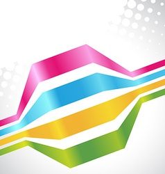 Colorful lines vector