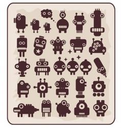 Robots monsters vector