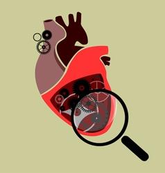 Mechanical heart vector