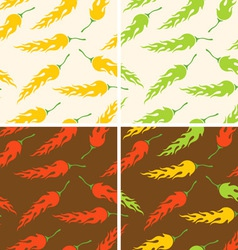 Chilli pattern vector